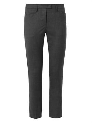 Mika Super 100 cropped trousers
