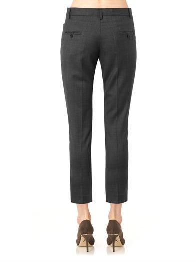 Isabel Marant Étoile Mika Super 100 cropped trousers