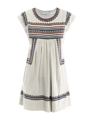 Demma embroidered dress