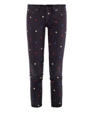 Deacon low-rise skinny jeans