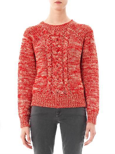 Isabel Marant Étoile Delta melange-knit sweater