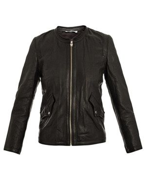 Calvin leather jacket