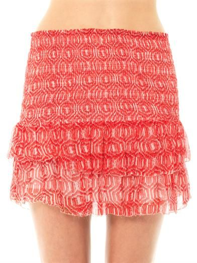 Isabel Marant Étoile Zelia mini skirt