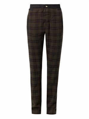 Velt checked trousers