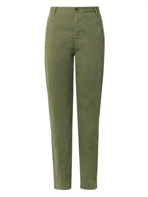 Wona high-rise relaxed trousers