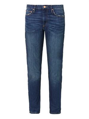 Toya low-slung slouch skinny jeans