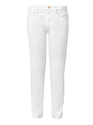 Isabel Marant Étoile Toya low-slung slouch skinny jeans