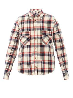 Ugo flannel check shirt
