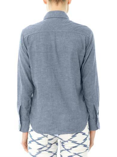 Isabel Marant Étoile Waller chambray shirt