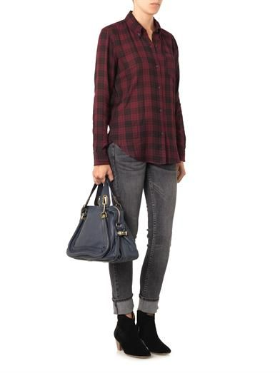 Isabel Marant Étoile Button-down-collar checked shirt