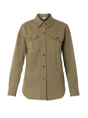 Wigston chest-pocket shirt