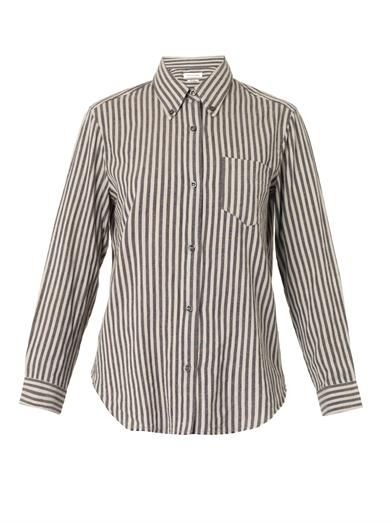 Isabel Marant Étoile Will striped cotton shirt