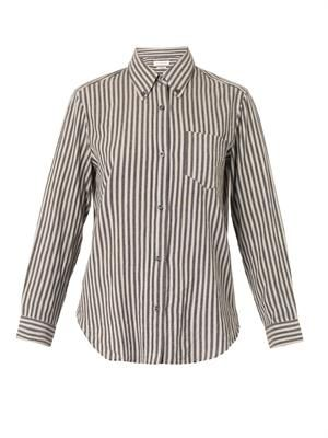 Will striped cotton shirt