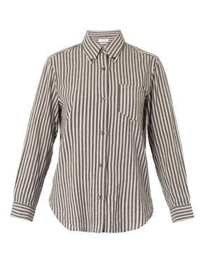 Will striped cotton shirt