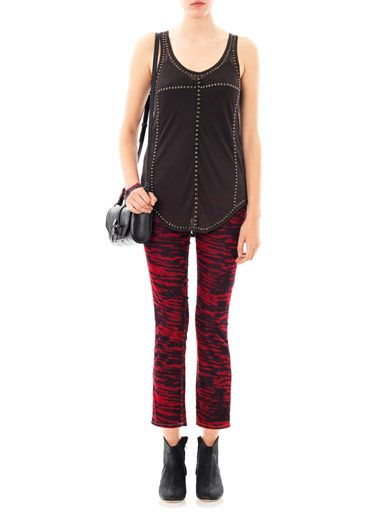 Isabel Marant Étoile Irwin corduroy mid-rise slim-leg jeans