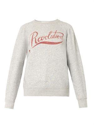 Gen revolution-print sweatshirt