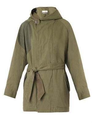 Ellison cotton-blend parka
