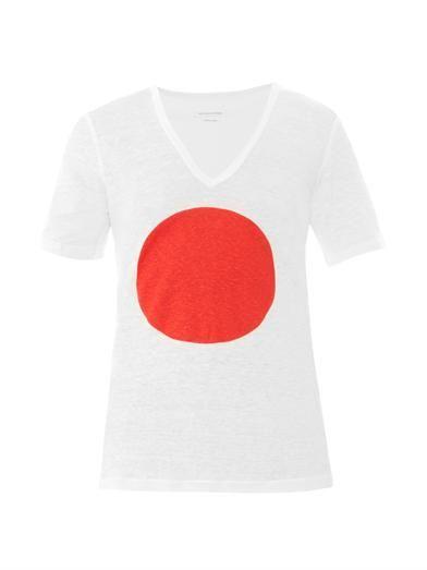 Isabel Marant Étoile Jeaneret Japan-print T-shirt