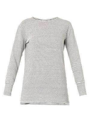 Ilesse striped linen T-shirt