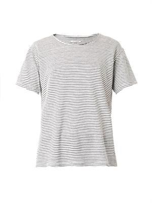 Itha striped linen T-shirt