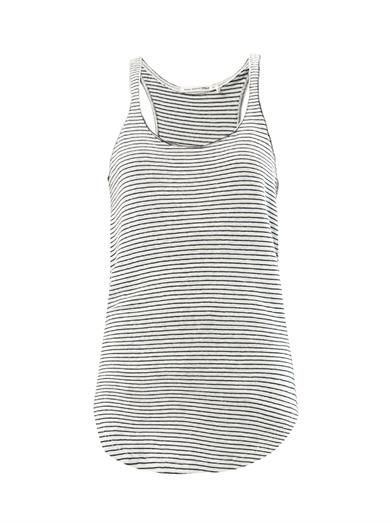 Isabel Marant Étoile Flavien striped tank top