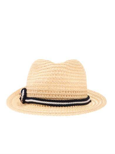 Eugenia Kim Craig rope-trimmed Panama hat