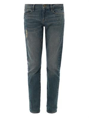 Le Garçon mid-rise boyfriend jeans