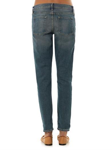 Frame Denim Le Garçon mid-rise boyfriend jeans
