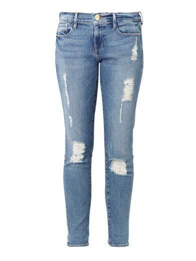 Frame Denim Le Garçon mid-rise tailored boyfriend jeans