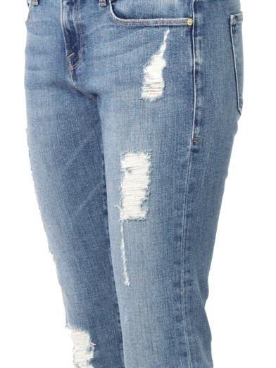 Frame Denim Le Garçon mid-rise tailored boyfriend jeans