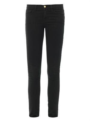 Le Luxe Noir mid-rise skinny jeans