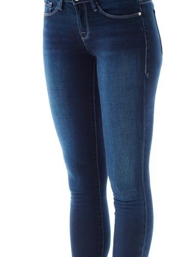 Frame Denim Le skinny de Jeanne mid-rise skinny jeans