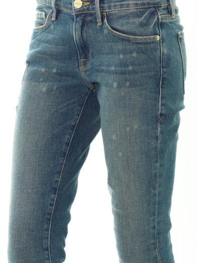 Frame Denim Le Skinny de Jeanne mid-rise jeans
