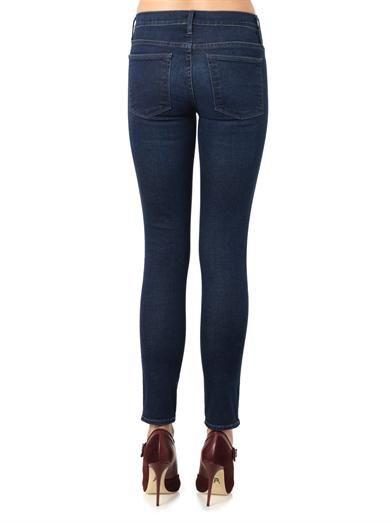 Frame Denim Le High Skinny high-rise skinny jeans