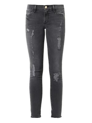 Le Skinny de Jeanne mid-rise skinny jeans