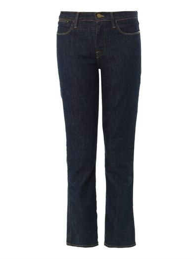 Frame Denim Le High straight-leg jeans