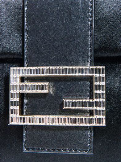 Fendi Baguette satin bag