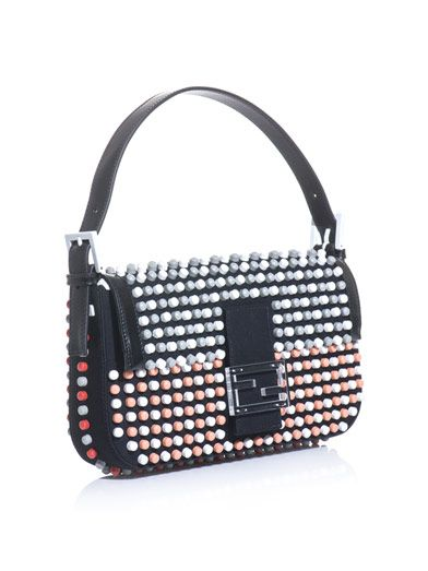 Fendi Super Bowl beaded Baguette bag