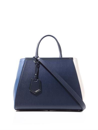 Fendi 2Jours medium leather tote