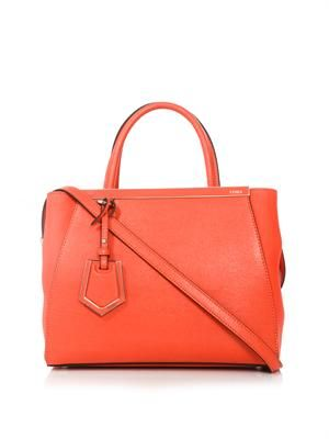 2Jours small leather tote