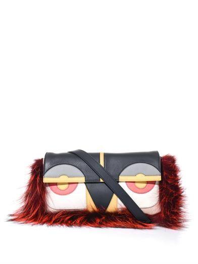 Fendi Baguette Bag Bugs leather bag
