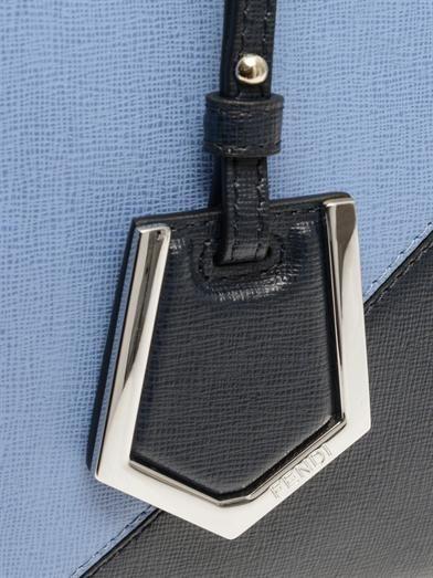 Fendi Petite 2Jours leather tote