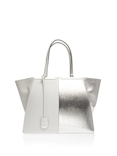 Fendi 3Jours trapeze wing leather tote