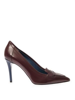 Andrea leather pumps