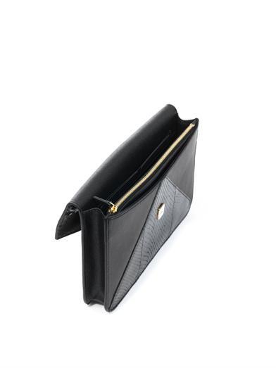 Fendi 2Jours snakeskin clutch