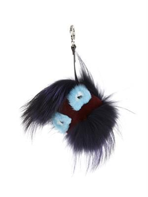 Happy Bag Bugs fur bag charm