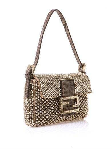 Fendi Mini beaded Baguette bag