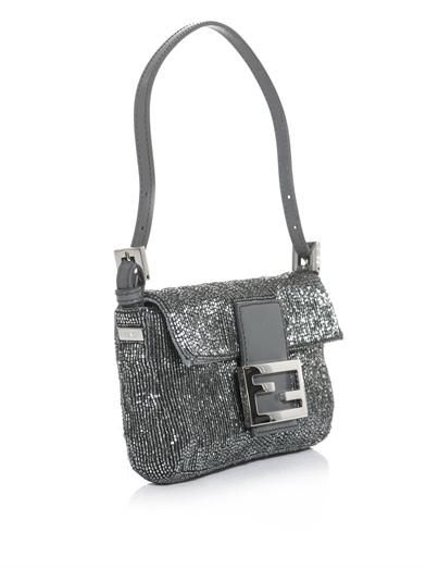 Fendi Baguette mini beaded bag
