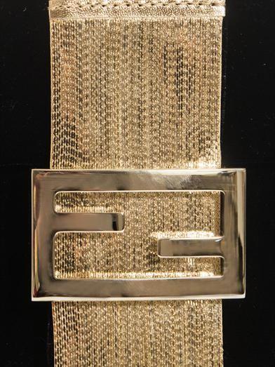 Fendi Baguette fringe detail velvet bag