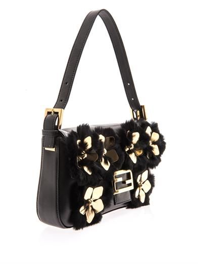 Fendi Floral detail Baguette bag